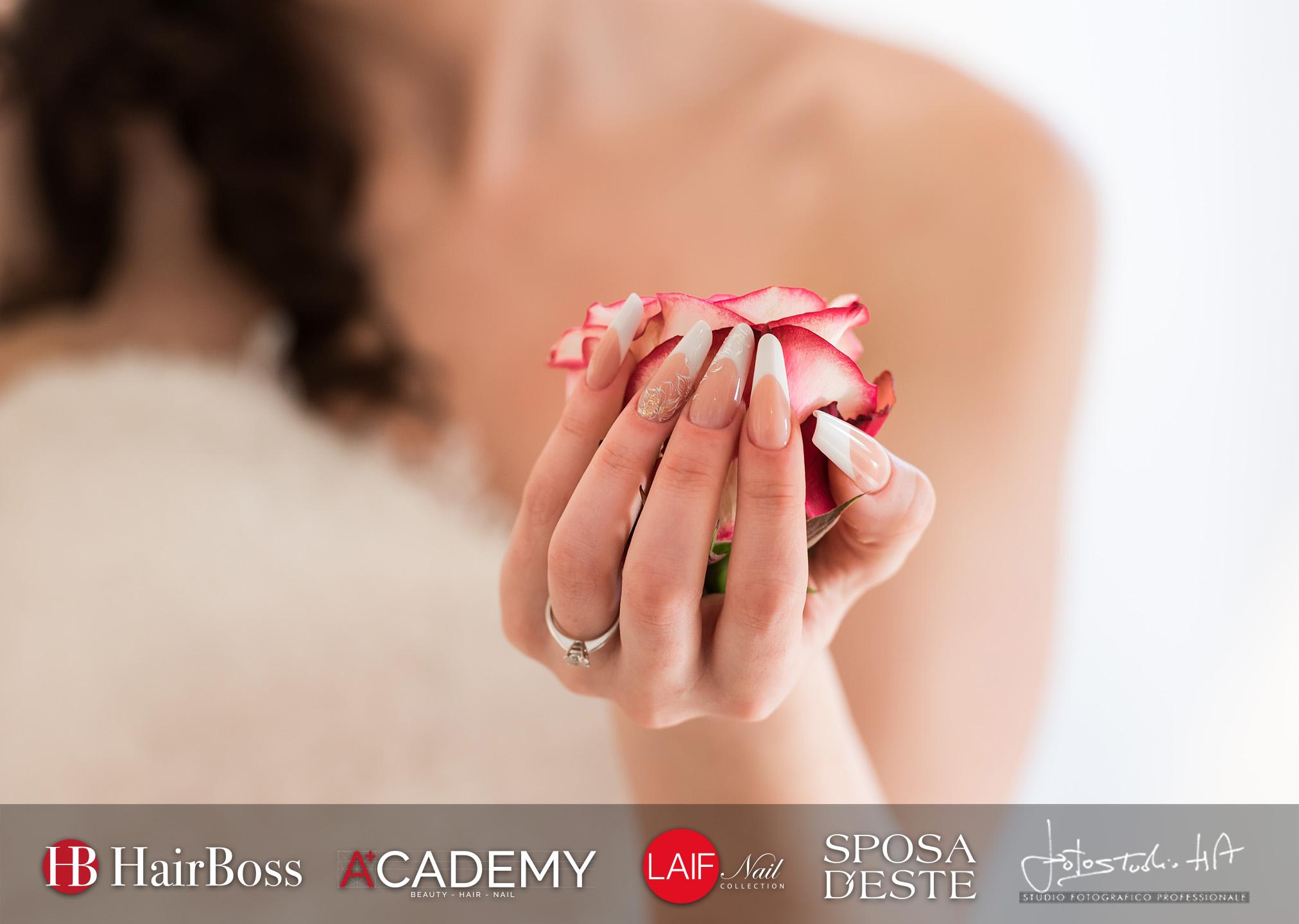 23 aprile nail art dedicato alla sposa