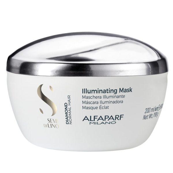 ALFA-PARF DIAMOND ILLUMINATING MASK 200ML shop on line prodotti professionali per capelli