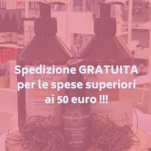 Spedizione gratuita oltre i 50€ di spesa - Ecommerce L'elisir di Chanelle