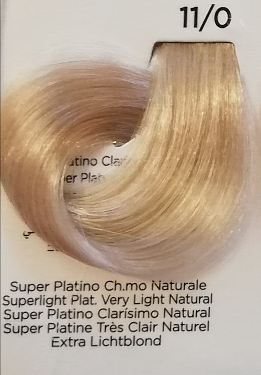 INEBRYA COLOR 11/0 SUPER PLATINO Ch.mo NATURALE e-shop prodotti per parrucchieri