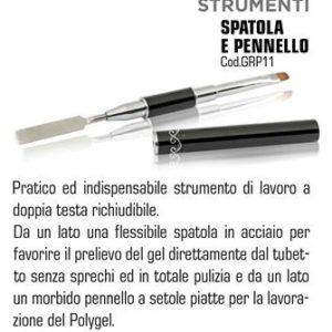 SPATOLA E PENNELLO PER POLYGEL e-commerce prodotti nails
