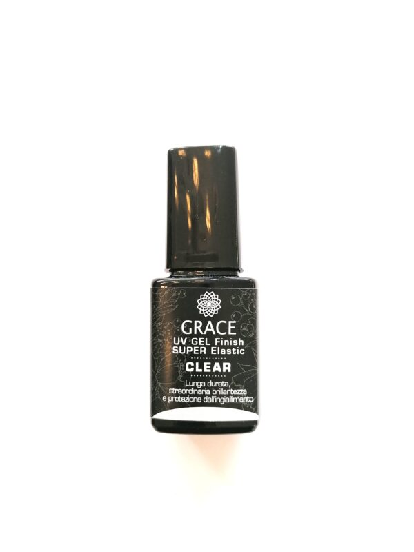 NEW GRACE FINISH SUPER ELASTIC CLEAR shop on line prodotti nails
